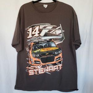 Vintage Nascar Tony Stewart racing t shirt #14